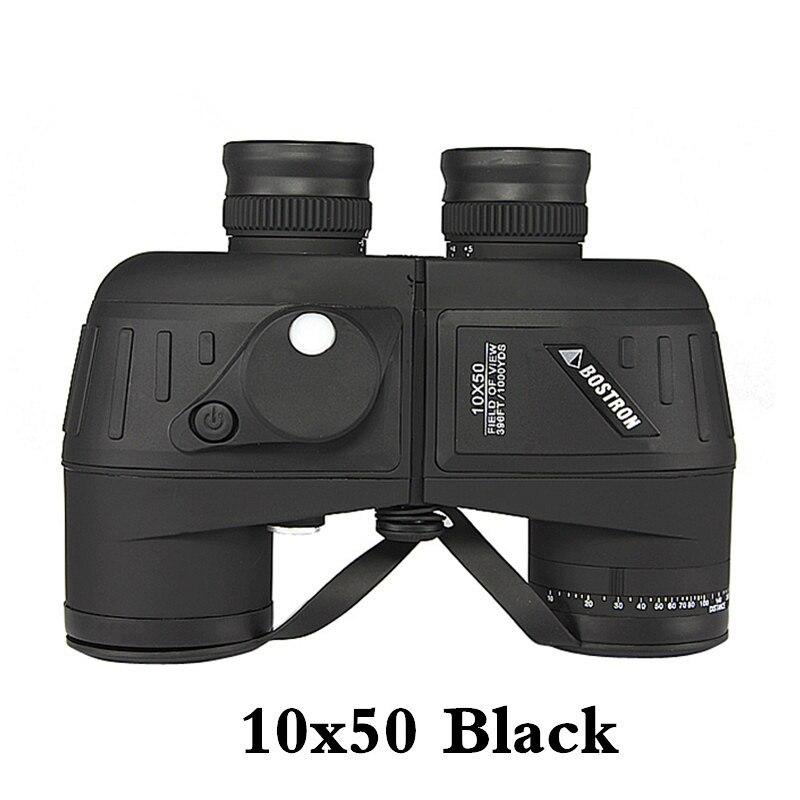 強力な双眼鏡7X50 / 10x50 hdデジタルコンパステレスコープナイトビジョンアイピースフォーカスとプロの軍事双眼鏡Бинокль