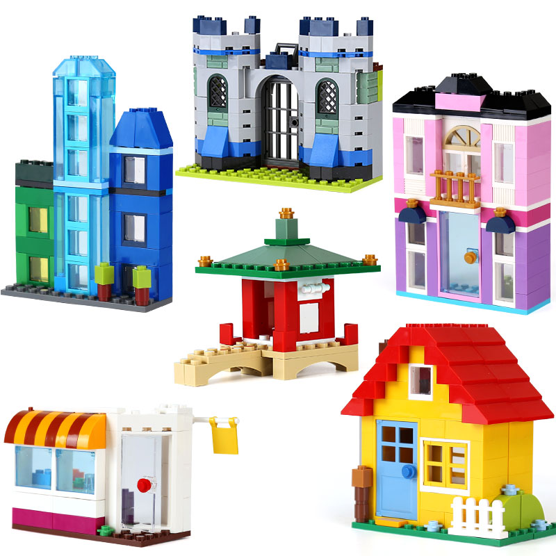 Lepin 42007 542Pcs Creative Series The 10703 Creative Builder Box Set Building Blocks Bricks LegoINGlys Kid as Gift Model kz headset storage box suitable for original headphones as gift to the customer