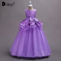 5 14 Years Girls Princess Dress Elegant Teenager Girl Party Dress for Wedding Birthday Long Dress for Girl Pageant Evening wear