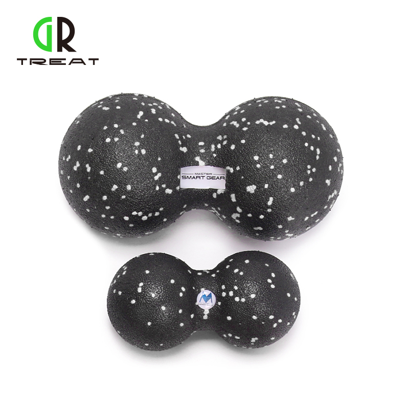 GR Behandle 2PCS EPP Massasje Ball Fitness Peanut Ball Crossfit Therapy Gym Slapp av Motion Lacrosse Ball For Yoga Gratis Levering