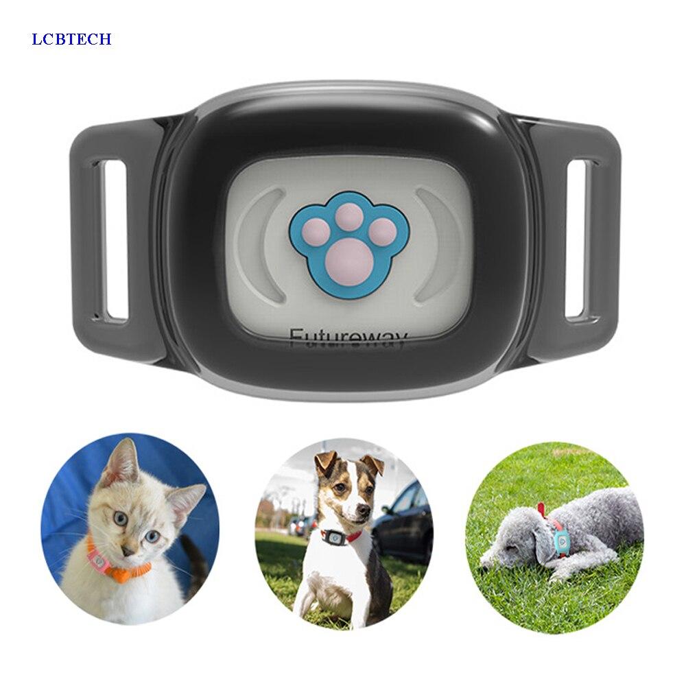 Smart Водонепроницаемый IP67 Мини Pet gps A gps фунтов отслеживания Tracker воротник для собак кошка gps LBS SMS позиционирования geo-загородка трек устройства