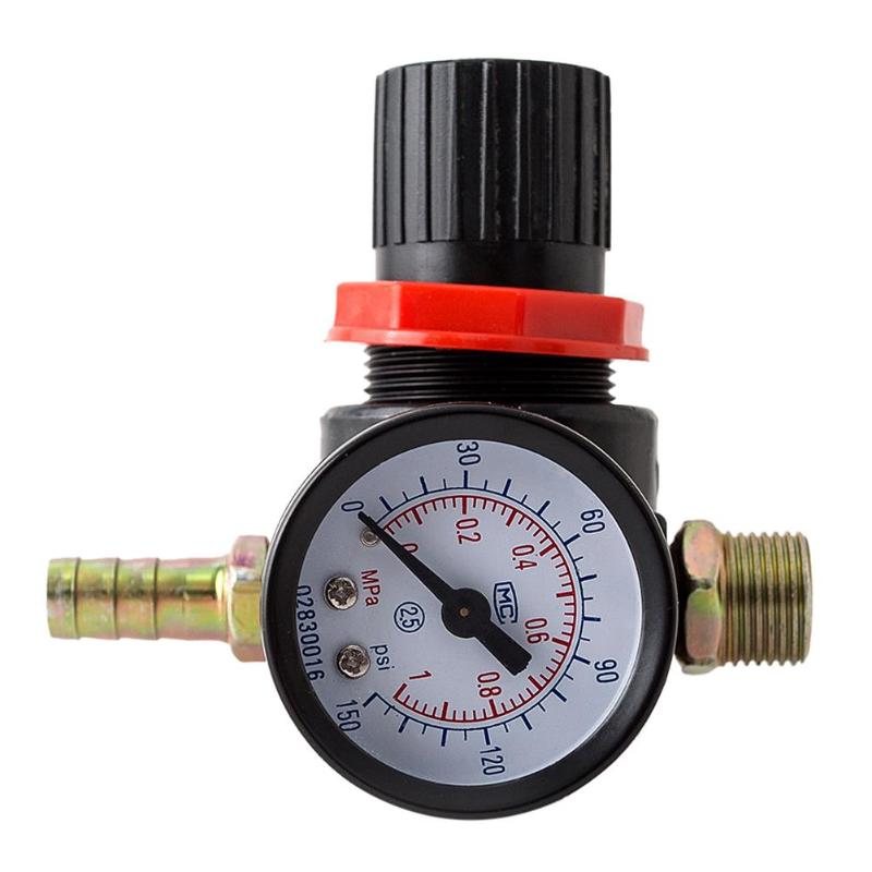 Manometer Druck Minderer Regler Manometer Manometer Wasser Kompressor Hydraulische Tester Meter Auto Ventil Fitting