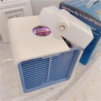 Car Portable Mini Air Conditioner Cooling USB LCD Timing Cooler for Bedroom Cooler Fan