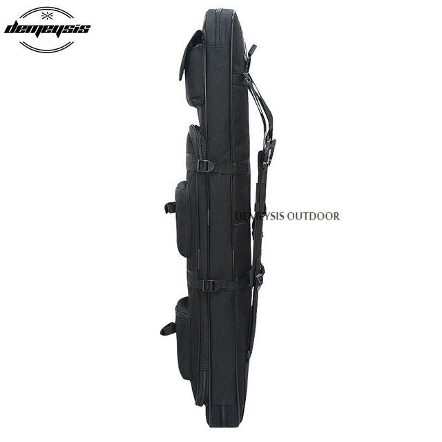 Heavy Duty Airsoft Military Tactical Gun Bag Outdoor Quality Rifle Case Shoulder Backup Pouch for Hunting CS Field Sport 4