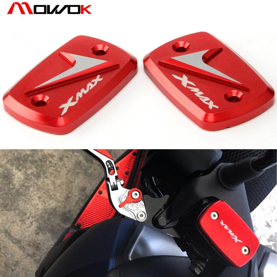 Motorbike CNC Aluminum Alloy Fluid Reservoir Tank Cap Cover For YAMAHA XMAX 300 2017 2018 Xmax300
