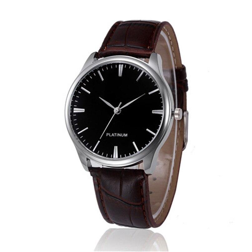 Irisshine #012 brand Luxury couple unisex watches men women Retro Design Leather Band Analog Alloy Quartz Wrist Watch black