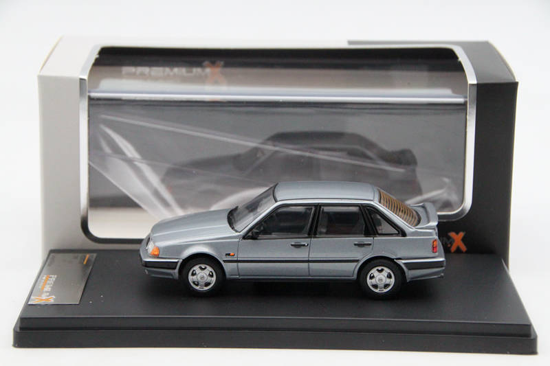 Premium X 1:43 Volvo 440 1988 Grey PRD440 Resin Models Car Limited Edition Auto Collection ixo premium x 1 43 stutz blackhawk coupe 1971 red prd002 limited edition collection resin auto models