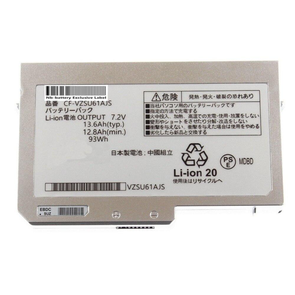 ФОТО 7.2V 93Wh Battery CF-VZSU59U CF-VZSU62U CF-VZSU61AJS CF-VZSU64AJS CF-VZSU60U For Panasonic Toughbook CF-N10 CF-S10 N10 S10