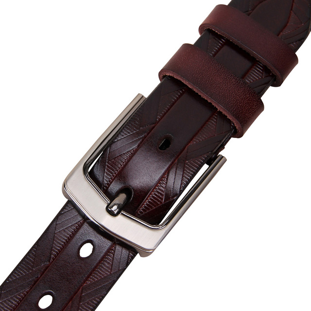 2016 New Fashion women belts cow genuine leather second layer high quality woman belt non-fading female strap Jeans girdle