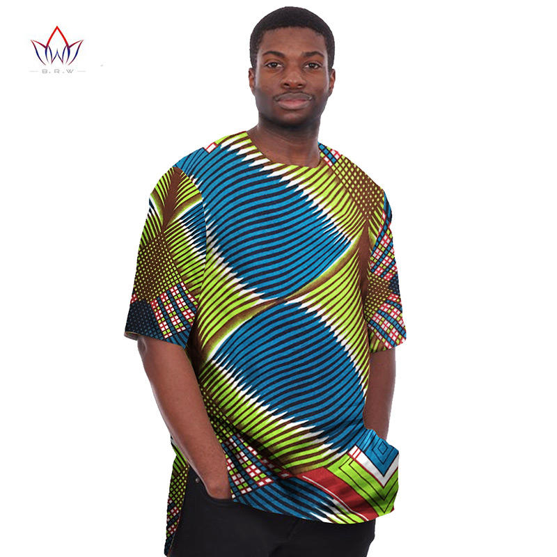 cf8f7851b71 African print clothing dashiki for men t shirts mens half sleeve mens shirts  brand clothing plus size 6xl african clothes wyn08