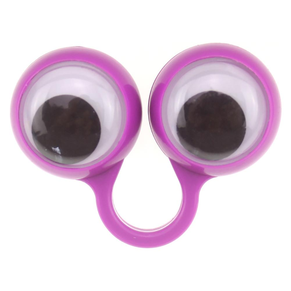 10PCS Eyes Finger Puppet Eyeballs Ring Toy Googly Eyeball Ring Wiggly Eyeball Finger Puppet Rings Eye Finger Toy Kids Party