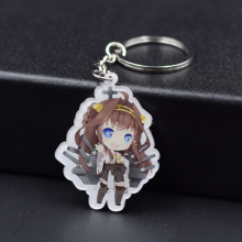 9 Styles Kantai Keychain Keyrings Fashion Jewelry Key Chain Hot Sale Custom made Game Key Ring FQ1