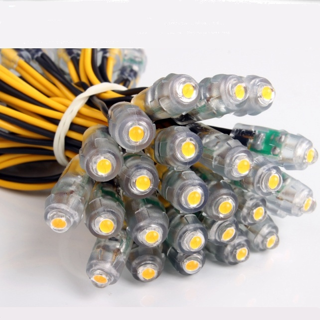 2000pcs 9 mm led point light 12v led backlight for letter sign advertising waterproof ip67 led