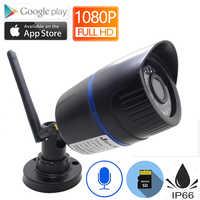 Wifi cámara Ip 1080 P 960 P 720 P HD Cctv seguridad Ipcam Video infrarrojo de vigilancia de Audio impermeable al aire libre cámara