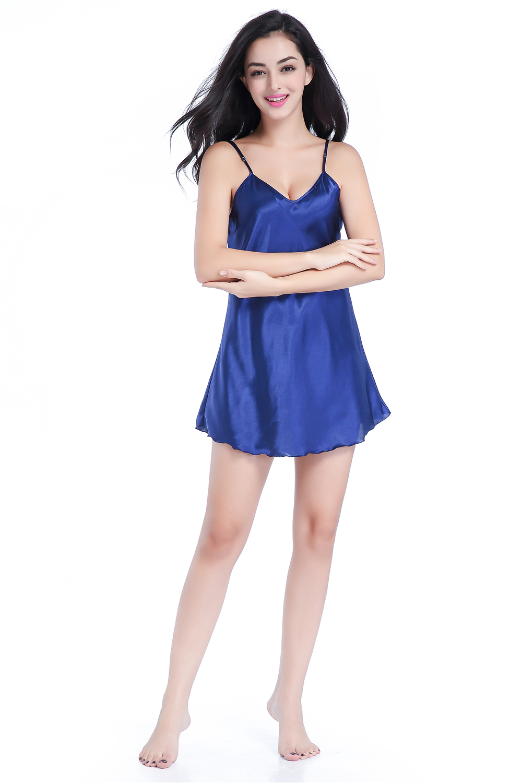 Neue Rot Sommer Frauen Robe Bad Kleid Heißer Verkauf Faux Silk Nachtwäsche Bademantel Nachthemd Pyjamas Größe S M L Xl Xxl Tb48 Damen-nachtwäsche