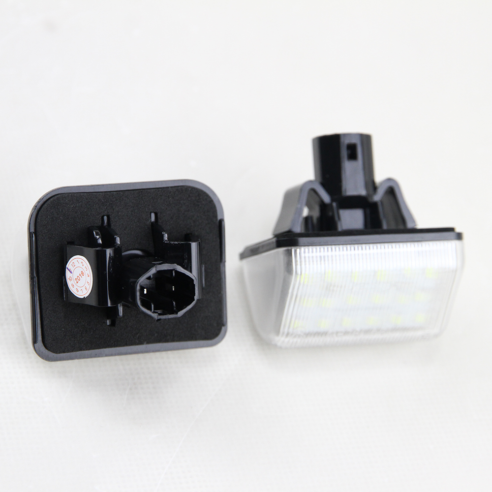 7000K Xenon White OEM Fit LED License Plate Lights bulbs For Mazda ...