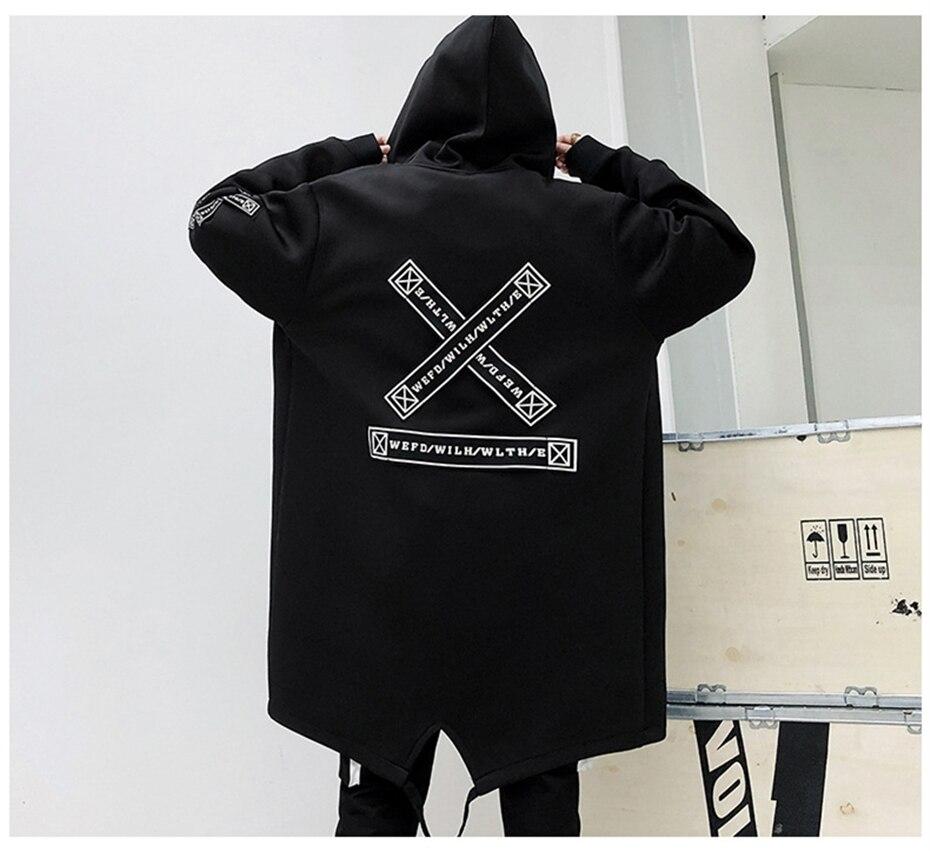 HTB1msknK9zqK1RjSZFLq6An2XXag Long Jacket Men Print Fashion 2019 Spring Harajuku Windbreaker Overcoat Male Casual Outwear Hip Hop Streetwear Coats WG198