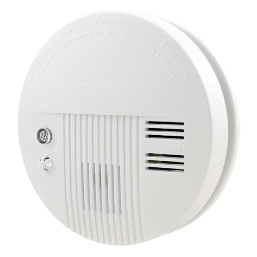 Minritech 110/220V Wireless Smoke/fire Detector smoke alarm for Touch Keypad Panel wifi GSM Home Security System wireless smoke fire detector for wireless for touch keypad panel wifi gsm home security burglar voice alarm system