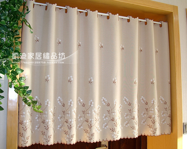 Curtains Ideas curtains for kitchen door window : Compare Prices on Kitchen Window Valances- Online Shopping/Buy Low ...
