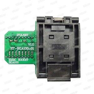 Image 3 - BGA100 מיוחד EMMC מתאם עבור RT809H מתכנת RT BGA100 01 שקע מקורי חדש משלוח חינם