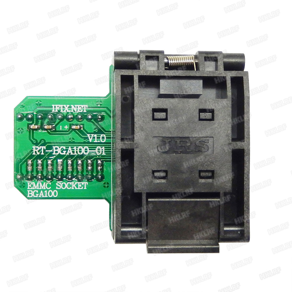 Image 3 - BGA100 Special EMMC Adapter For RT809H Programmer  RT BGA100 01 Socket Original New Free Shipping-in Integrated Circuits from Electronic Components & Supplies