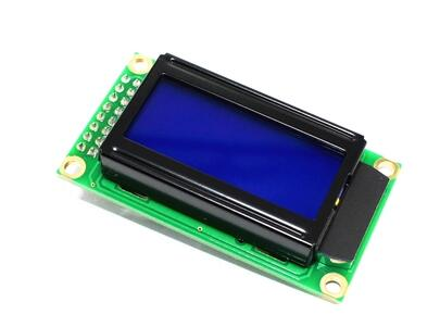 Blue LCD0802 Character Display Module 5V 0802 for Arduino Connector