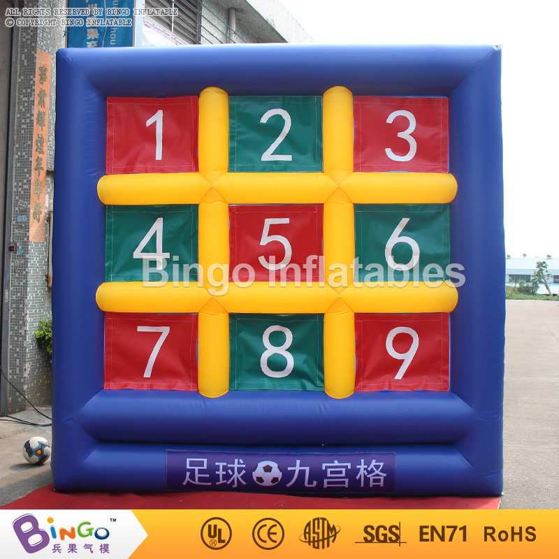 10ft*10ft*5ft PVC material inflatable soccer gate / inflatable football door / inflatable board game for sport game ao058m 2m hot selling inflatable advertising helium balloon ball pvc helium balioon inflatable sphere sky balloon for sale