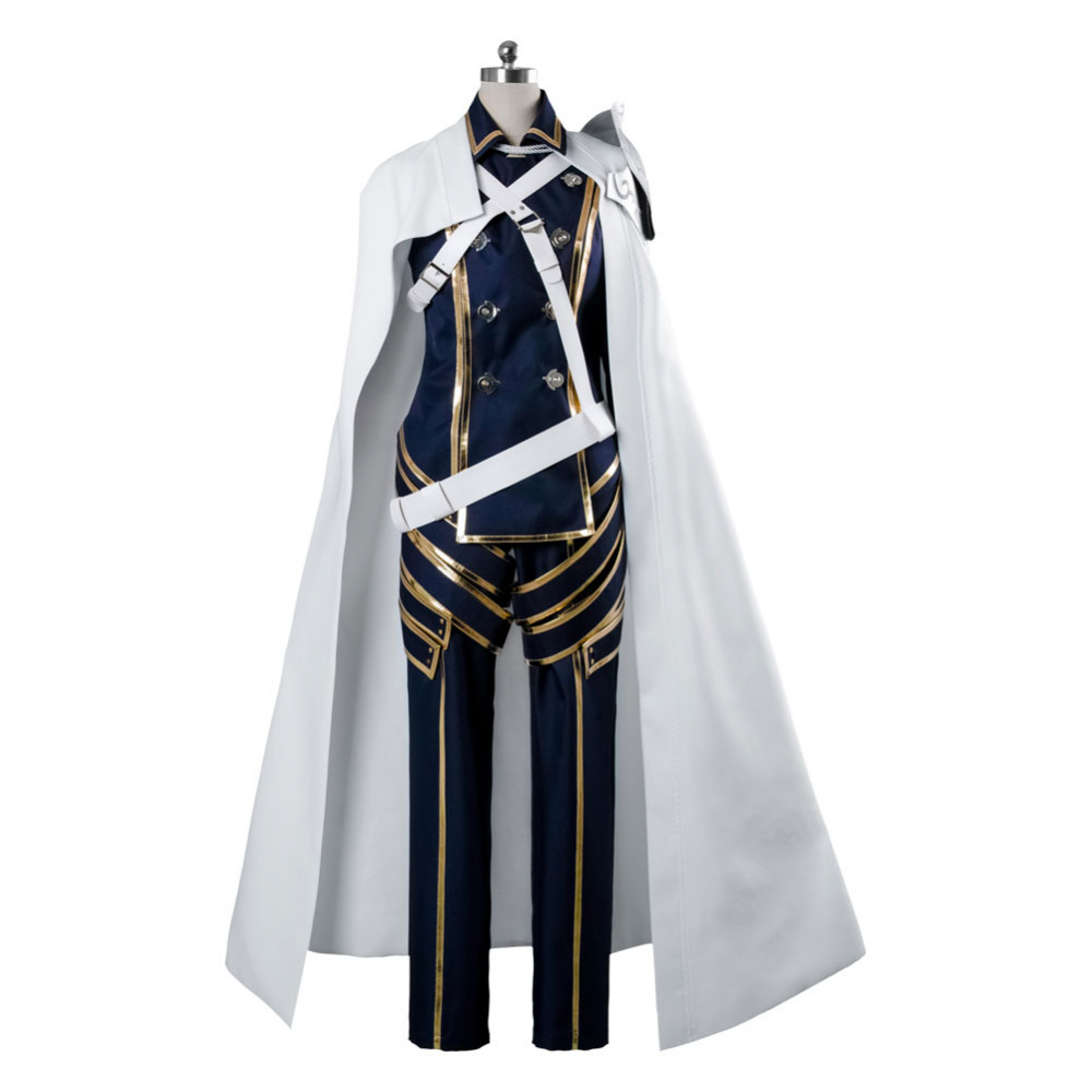 Fire Emblem Awakening Chrome Battleframe Uniform Cosplay Costume Custom Made Adult Men Outfit Clothing Christmas