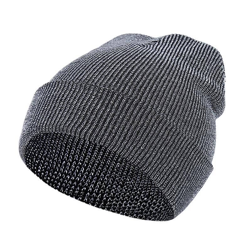 Winter Warm Knitted Hat Cap   Skullies     Beanies     Beanie   Bonnet Simple Knit Outdoor Vintage Caps For Women Female Men Male Ski Hats