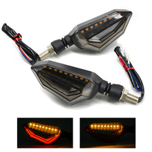Motorcycle Turn Signal LED blinkers flashing lights led flashers For kawasaki ninja 300 er6n  650 z650 versys mt03 mt10