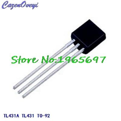 50pcs/lot TL431A TL431 TO-92 New Original In Stock