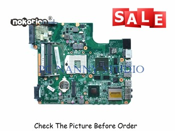 PCNANNY A000074700 For Toshiba Satellite L740 L700 Intel Laptop Motherboard HM65 DDR3 Tested