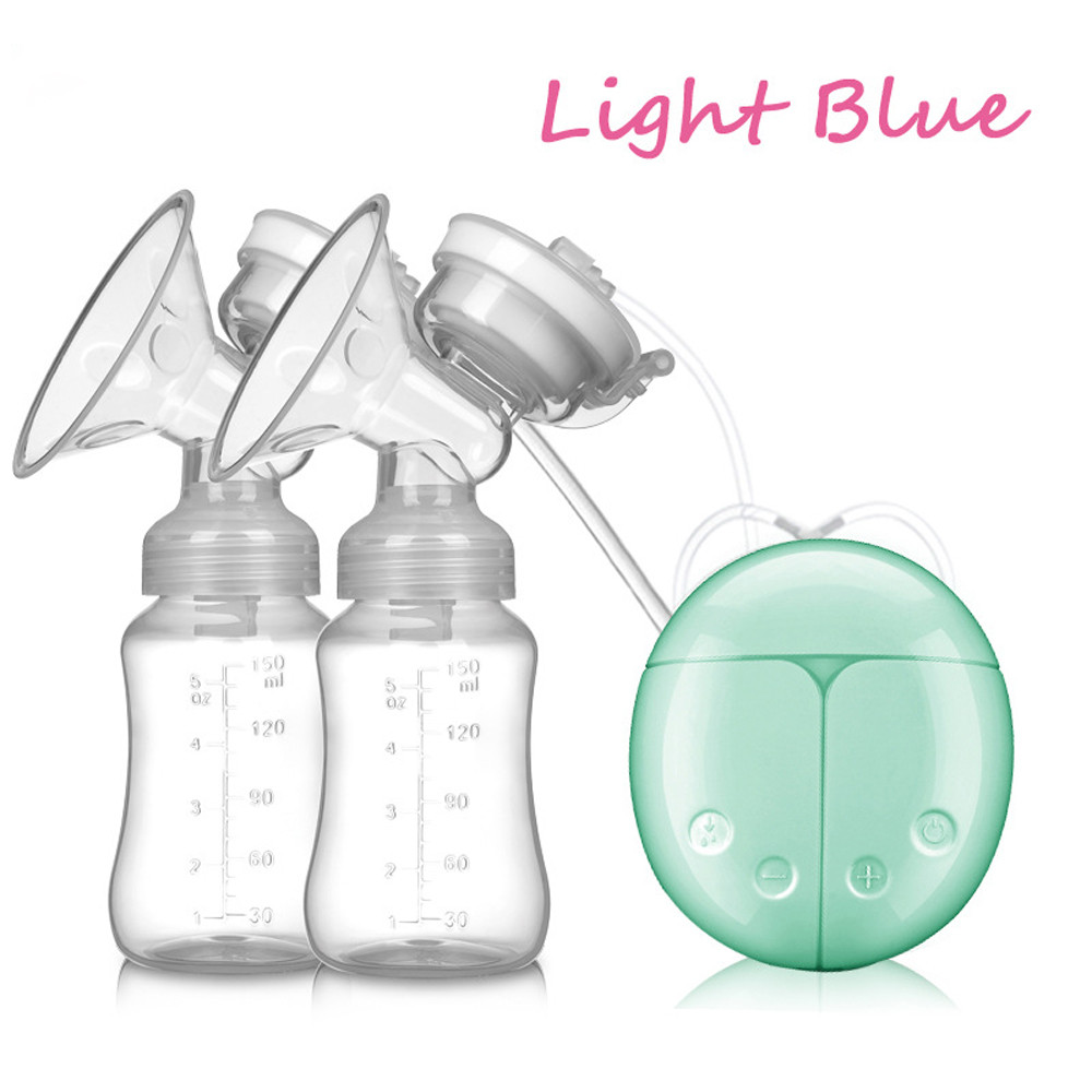 Milk Storage Box Baby Usb Double Intelligent Electric Breast Nipple -9642