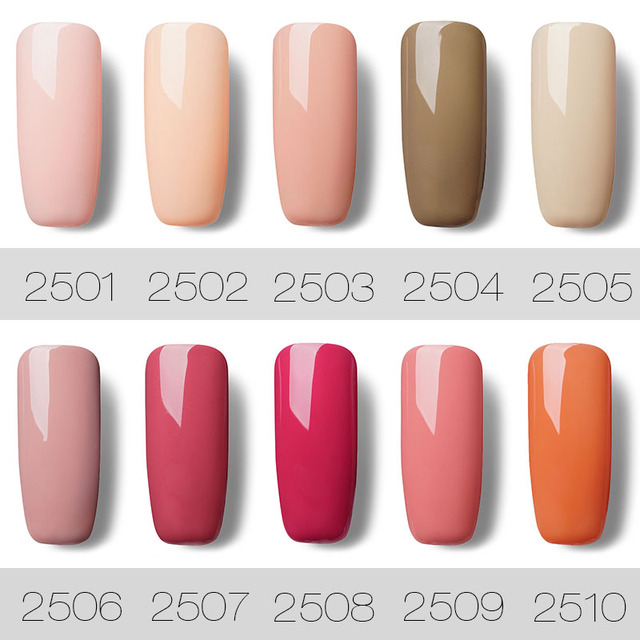 Gel Nail Polish Nude Color Series 7 ml