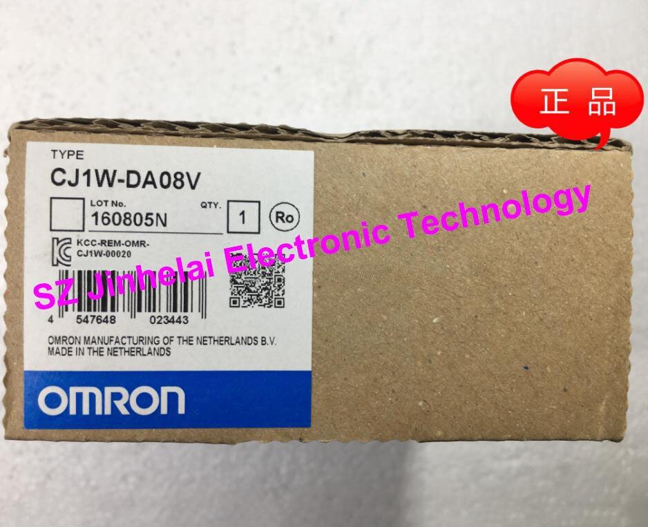 New and original CJ1W-DA08V OMORN Analog output module original output module ay41p