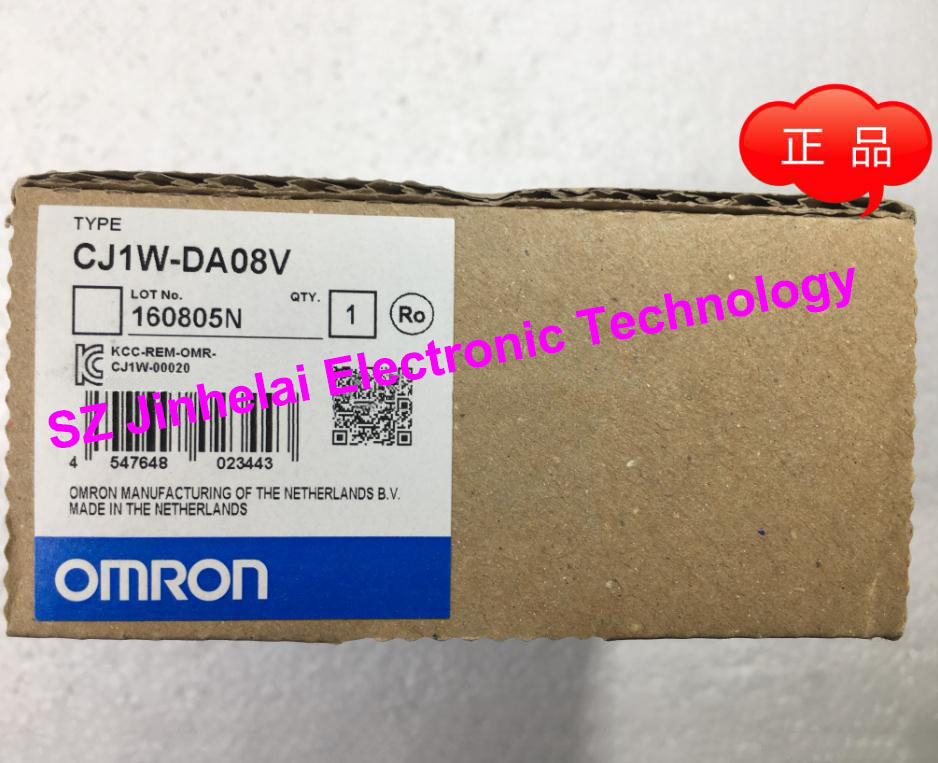 New and original OMRON CJ1W-DA08V  Analog output module 100% new and original cj1w nc433 omron position control unit