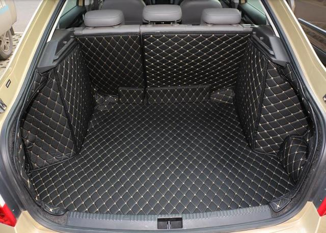 haute qualit sp cial tronc tapis pour nouvelle skoda octavia 2017 durable tanche boot tapis. Black Bedroom Furniture Sets. Home Design Ideas