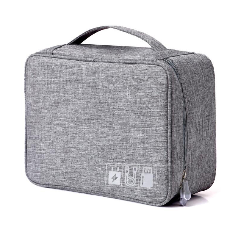 Travel Storage Bag Kit Data Cable U Disk Power Bank Electronic Accessories Digital Gadget Devices Divider