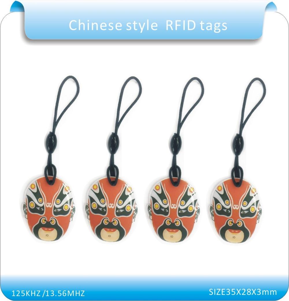 10 piezas de maquillaje facial chino tarjeta RFID UID tarjeta nfc - Seguridad y protección