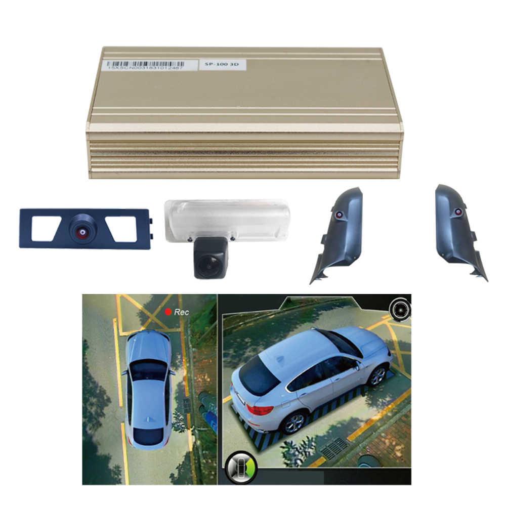Smartour 360 камера 3D панорамный обзор система мониторинга система наблюдения за птицами в 4 камеры видеорегистраторы 1080P рекордер мониторинг парковки