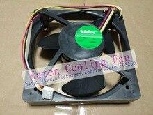 Оригинал NIDEC U12E12BS8F3-57 J232 12 В 0.06A 125*125*35 мм Mute водонепроницаемый вентилятор охлаждения