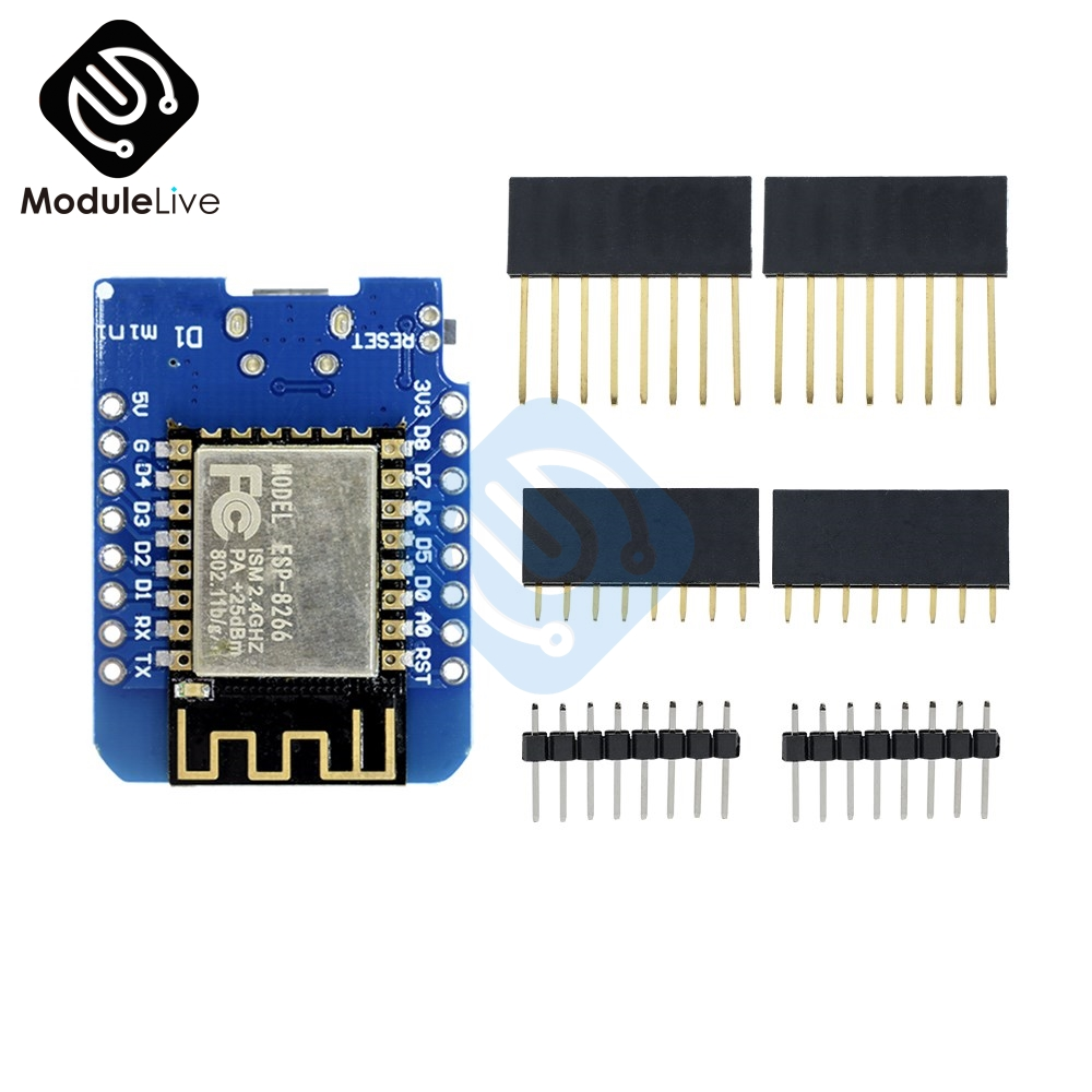 Esp8266 Esp-12 Esp-12f Ch340g Ch340 V2 Usb For Wemos D1 Mini Wifi Development Board D1 Mini Nodemcu Iot Board 3.3v With Pins Active Components