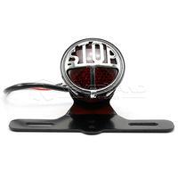 Neverland parar motocicleta cauda luz suporte da placa de licença para harley bobber chopper dyna universal d35