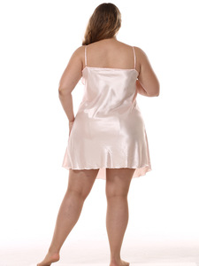 Image 5 - Longue Robe ensemble longue Satin Robe de chambre femmes vêtements de nuit 9685