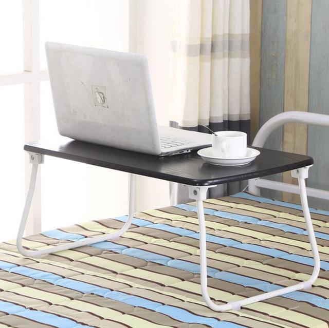 simple casa plegable mesa de ordenador porttil cama escritorio dormitorio plegable pequea lmpara de mesa pequea