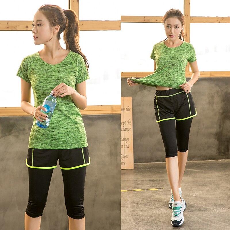 Big Size Workout Clothing Women's Gym Sports Running Slim