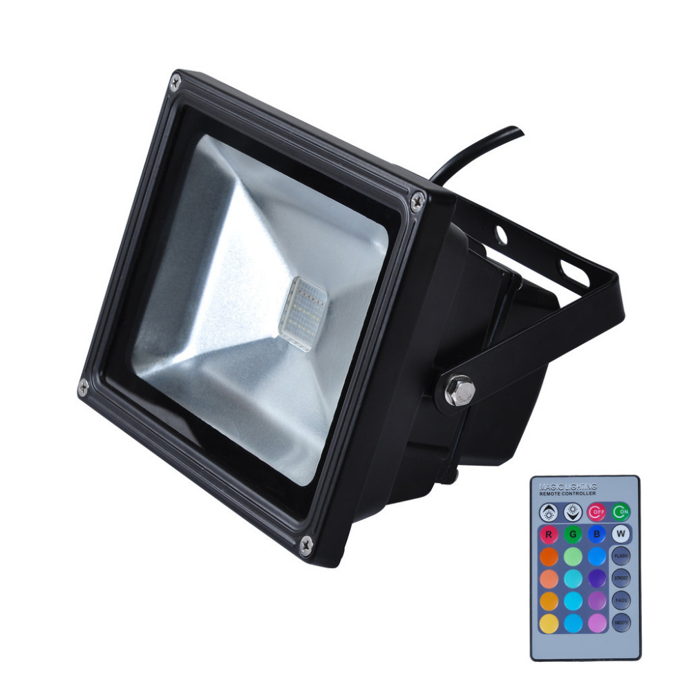 Hot Sale IP65 Waterproof 10W RGB Led Flood Light Outdoor