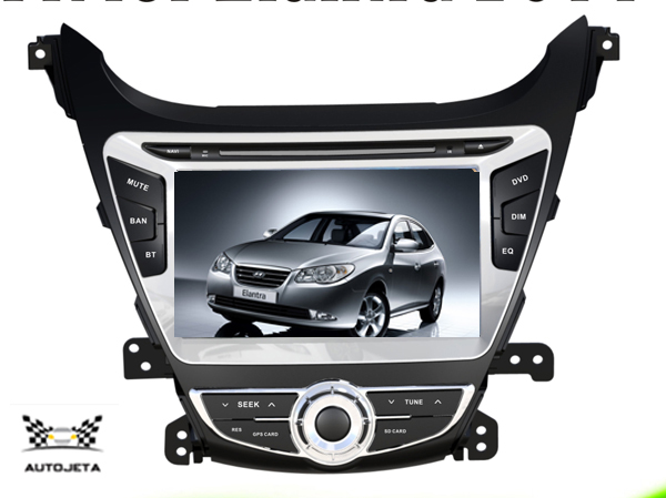 4UI intereface combined in one system CAR DVD PLAYER FOR 8 LCD Hyundai Elantra Avante 2014 Bluetooth GPS NAVI RADIO stereo map ветровики korea hyundai elantra 2013 avante md 2013