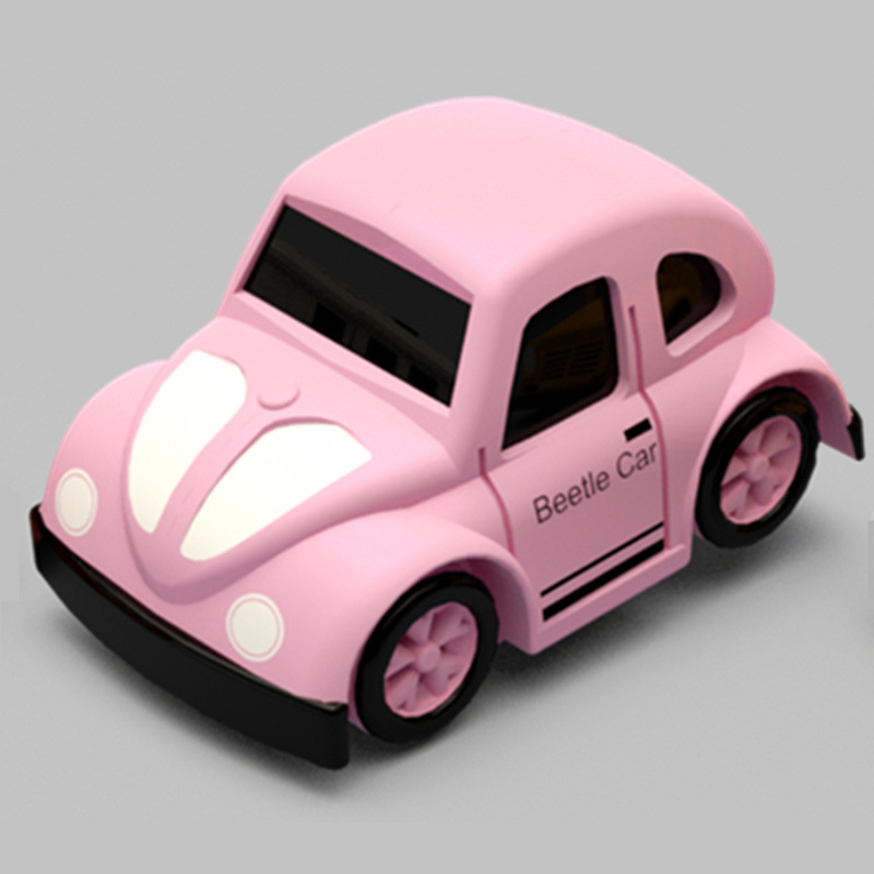 Mini Taxiable Car Train Toy Macoron Color Pass-through Adventure Toy With Wheel Kids Toy