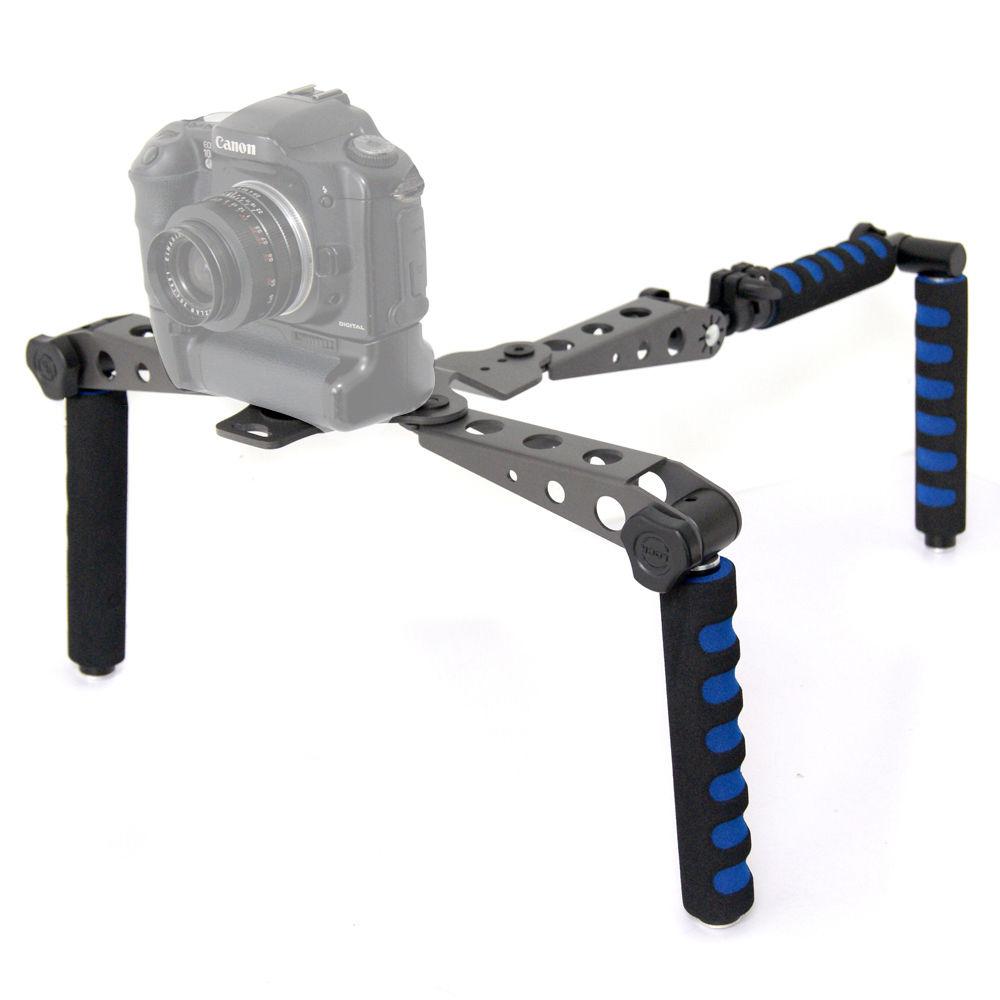 DSLR DV Rig Movie Kit Shoulder Mount Steady Support Stabilizer for Canon 5D MKII 5d3 6d 7D 60D 600D 700d 80d 760d camera